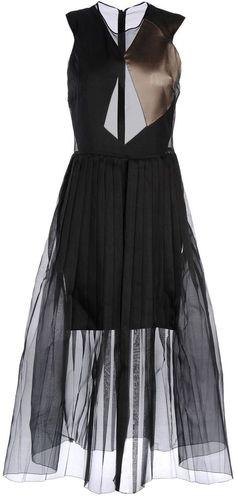 BARBARA CASASOLA 3/4 length dresses