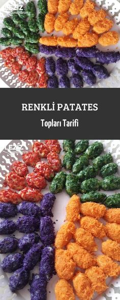 Renkli Patates Topları Tarifi – Leziz Yemeklerim – Vegan yemek tarifleri – The Most Practical and Easy Recipes Salmon Recipes, Potato Recipes, Lunch Recipes, Vegetable Recipes, Summer Recipes, Fall Recipes, Turkish Recipes, Italian Recipes, Potato Balls Recipe