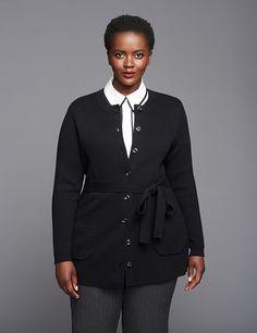 7c3c241204c01 Cardigan Jacket by GLAMOUR X LANE BRYANT