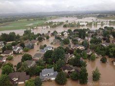 Colorado Flood 2013 - Longmont near 9th