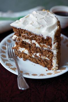 Spiced Carrot Layer Cake Recipe | SAVEUR