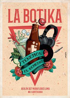 La Botika on Behance