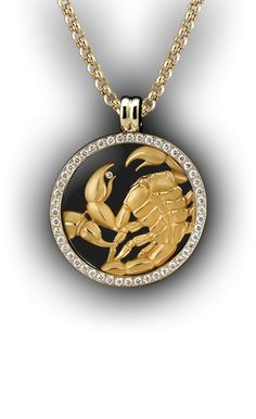 Magerit - Zodiac Collection: Necklace Big Cancer