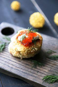 Croquettes au saumon et aux pommes de terre