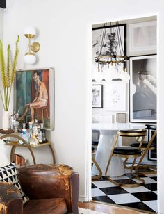 A Bachelors Apartment Makeover