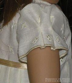 # J_018. (Circa 1974) -- Sleeve pleats detail