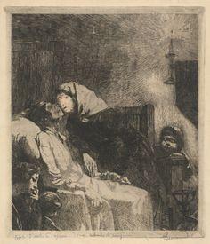 Albert Besnard - The End. 1883