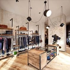 Visual merchandising is frequently assume as a mixture of art and science, so it can be a complex duty. Here are a list of concept for Visual Merchandising and Boutique Displays. Boutique Design, Design Shop, Shop Interior Design, Blog Design, Boutique Logo, Clothing Store Interior, Clothing Store Design, Fashion Store Design, Clothing Stores