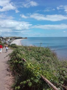 Budleigh Salterton in the sunshine!
