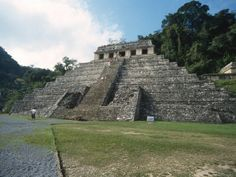 Mayan Temple in Palenque, Mexico