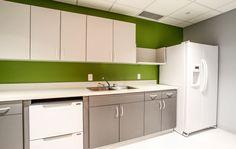 Break Room at CEMAS, SciTech Columbus, OH JBA Architects Newark, OH
