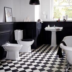 Lave-Mains gain de place en solid surface в 2019 г. Cheap Flooring, Bathroom Inspiration, Bathroom Decor, Black Bathroom, Interior, Bathroom Makeover, Art Deco Bathroom, Black Tile Bathrooms, Bathroom Design