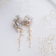 Ear Jewelry, Cute Jewelry, Jewelry Box, Jewelry Accessories, Jewelry Design, Fancy Jewellery, Stylish Jewelry, Fashion Jewelry, Cute Earrings