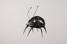 Миниатюрные рисунки Матео Писарро - Все интересное в искусстве и не только.