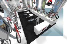 If your needs require a custom designed and built trade show booth and trade show displays, EXHIBITMAX is the best exhibit rental company! Show Booth, Trade Show, Rocky Mountains, Exhibit, Bicycles, This Is Us, Custom Design, Display, Home Decor
