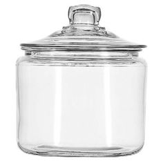 #5: Anchor Hocking 3-Quart Heritage Hill Jar with Glass Lid