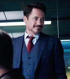 RDJ as Tony Stark/Iron Man in 'Captain America: Civil War'