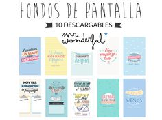 1000 images about fondos de pantalla mr wonderful on Fondos movil mr wonderful