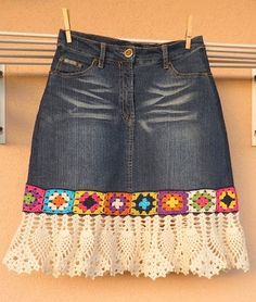 denim crochet skirt (3)