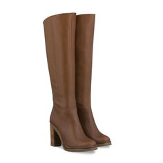 Duo Enola Tan Leather womens boots - $315