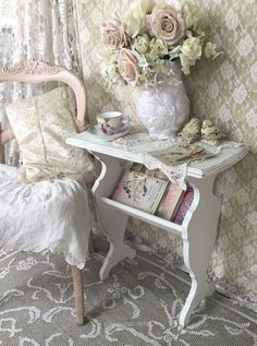 ❤(¯`★´¯)Shabby Chic - .❤(¯`★´¯)Shabby Chic Splendid .❤(¯`★´¯)Shabby Chic(¯`★´¯)°❤ … - Shabby Chic Buffet, Shabby Chic Furniture, Shabby Chic Living Room, Shabby Chic Interiors, Shabby Chic Bedrooms, Shabby Chic Kitchen, Shabby Chic Homes, Bedroom Furniture, Furniture Decor