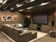 Browse photos of Basement Rec Room. Find ideas and inspiration for Basement Rec Room to add to your own home. See more ideas about Game room basement, Game room and Finished basement bars. Theatre Room, House Design, Small Basements, Basement Remodeling, House, Home Remodeling, Home Theater Design, Basement Bathroom, Basement Decor