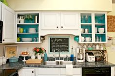 Beachy Modern Country Kitchen