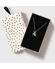 TOPSHOP | Christmas Unicorn Necklace | Lyst