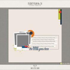 Flight Plan No. 24   One Little Bird
