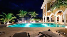 Riviera Maya Haciendas, Hacienda Magica - Villa Facade Beachside At Night