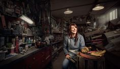 I like this working environment portrait - shows another side to your work i.e.. the composition - could use your office