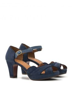 Chie Mihara  Navy  SANDALS. Shop on Italist.com