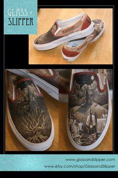 custom harry potter shoes.