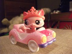 Destiny and her new car and tiara!