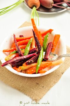 Gajar ka Achar | Instant Carrot Pickle