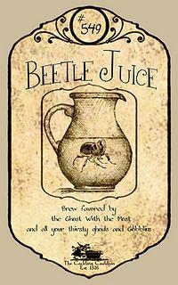 Beetle-Juice-Label | Flickr - Photo Sharing!