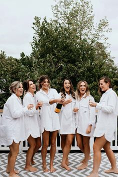 Rach & Jesse's Modern-Rustic Wedding at The Piggery Bridesmaid Dresses white bridesmaid dresses Bridesmaid Robes, Wedding Bridesmaids, Wedding Dresses, White Bridesmaid Dresses, Perfect Wedding, Dream Wedding, Wedding Day, Wedding Rustic, Rustic Wedding Photography