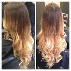 #balyage how I am going to do my hair. I'm doing a bit more subtle but this is the gist.