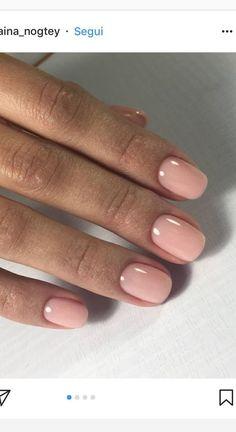 wunderschöne schlichte Fingernägel für den Hochzeitstag, und vor allem - nicht zu lang!