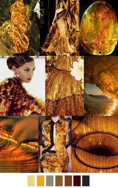 Пурпур и золото осеннего цветотипа