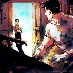 """NEED HELP?""I like farmboy Clark. :D (Superbat)"