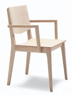 Fauteuil design en bois Maxime 165 - Sledge