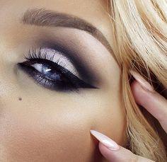 make-up for blue eyes