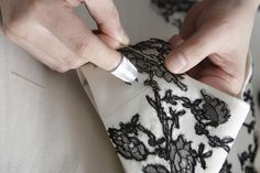 Hand Embroidered Lace-FW11