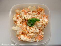zdrowe śniadanie do pracy cz 16 Pasta Salad, Nom Nom, Cabbage, Food And Drink, Vegetables, Ethnic Recipes, Fitness, Crab Pasta Salad, Cabbages