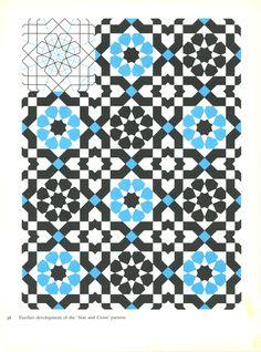 """Star & cross"" islamic art pattern"