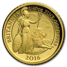 2016 Great Britain 0.7 gr 50 Pence gold coin - Gold Britannia.