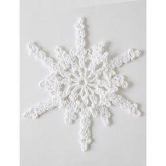 Twinkling Snowflakes - Patterns   Yarnspirations