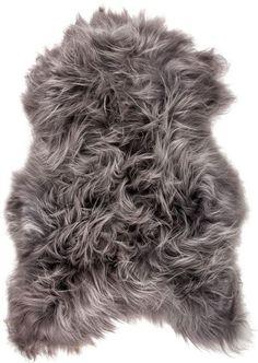Kinetic 'Natural Icelandic Sheepskin Single Long-Haired Rug - x - Grey Brisa Navy Blue Area Rug, White Area Rug, Grey Rugs, Beige Area Rugs, Sheepskin Rug, Natural Rug, Boutique, Green And Grey, Gray