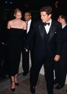 JFK, jr. and Carolyn.